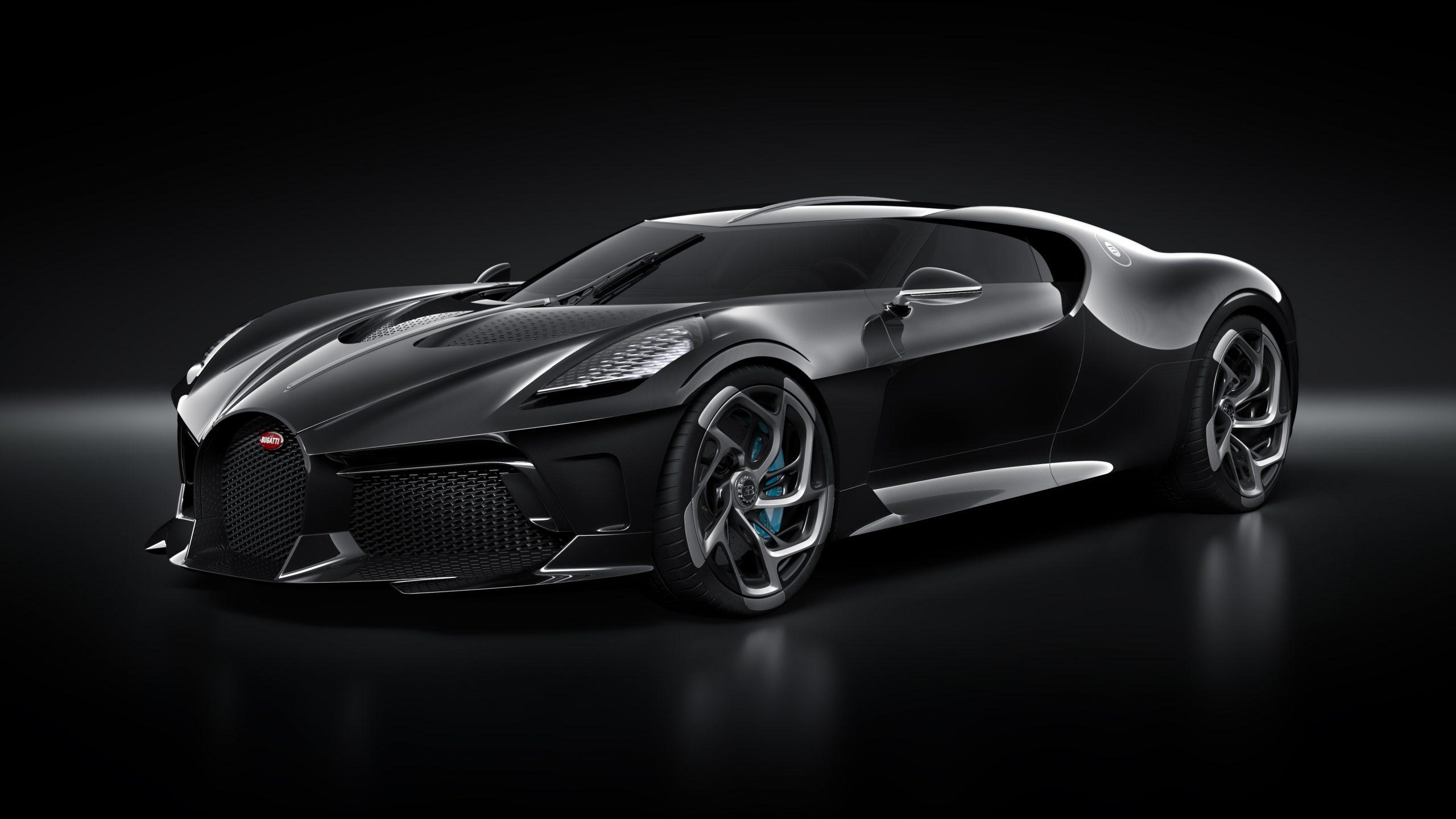 بوغاتي السيارة السوداء أغلى سيارة في التاريخ! أكثر من 18 مليون دولار