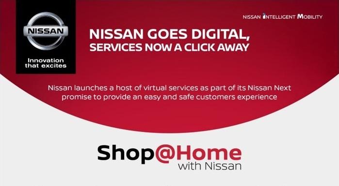 نيسان تطرح خدمات Shop@Home الجديدة للتسوّق من المنزل بسبب كورونا